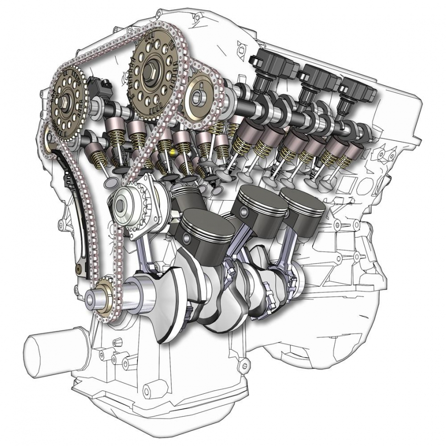 Двигатели с вътрешно горене ДВГ